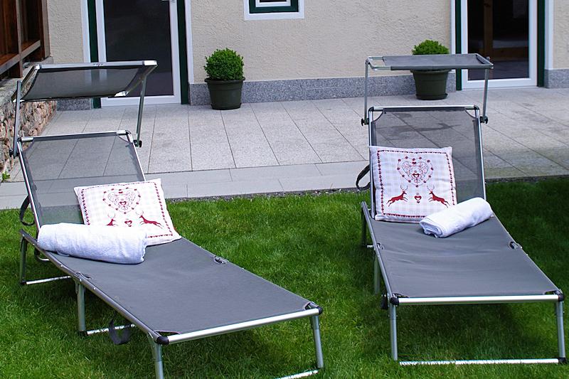 Ferienhaus Neuhäusl - Garten