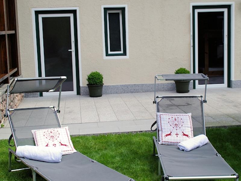 Ferienhaus Neuhäusl - Terrasse